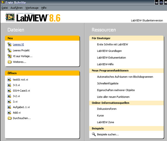 Private Webseite - Lego- mindstorms nxt - LabVIEW ...